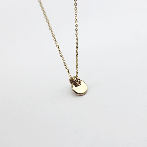 14k Miniconoin Necklace